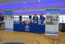 2014 Annual Communication / The Michigan Masonic Charitable Foundation attended the Annual Communication, at the Grand Hotel in Grand Rapids MI this year. We had a fun, productive and informative time. Although it was a lot of work it was well worth it to share where we've been and where we are going in the coming year.