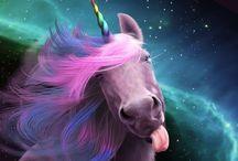 Unicorno fantasy