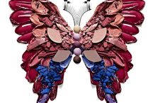ROBERT TARDIO / BUTTERFLIES / Cosmetic Butterflies created with Stylist Suzy Kim, photographed & retouched by Robert Tardio