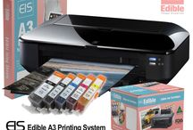 Edible Ink Printers / Edible Ink Printer packages that prints on BOTH A4 & A3 Icing Sheets & are the BEST Packages to Start printing Edible Photos.