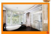 Window design for bathroom