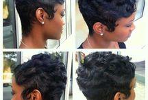 Short Styles / Pixie Cuts / by Aisha Kelley