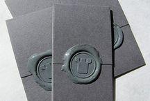 Qrious Lab.: Biz Card - gray