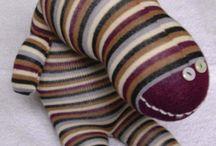Muñecos de calcetín -  Nuigurumi / Muñecos de calcetín -  Nuigurumi