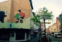 Ephemeral signs. Random encounters / STREET-ART Ljubljana/Budapest