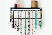 Jewelry & Accessory Organizers / Introducing a solution to jewelry box clutter...BelleDangles Jewelry Organizers offer both wall-mounted and standing jewelry organizers in a variety of sizes and colors to help you organize your entire collection including: necklaces, bracelets, rings and both stud and dangle earrings. See the entire collection at www.BelleDangles.com