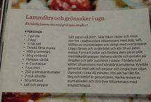 Recept - Kött/Nötfärs