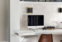 Home Office / Home office ideas with wallpaper