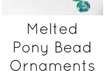 Craft and Art to Try / Melted pony beads