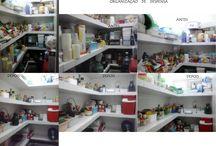 Despensa / Organização de despensa de cozinha