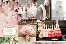 Pink and Blush  Wedding Ideas / Pink wedding inspiration