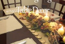 Everything for Thanksgiving / Thanksgiving Decor, food ideas, and tips!