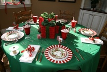 Christmas / I love the holidays.   Here are some ideas.   Having a different theme is great for your next event.  Let us help you create that look.  www.yourmainstream.com