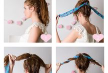 Bun hair tutorials