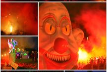 Halloween parties / Time to think about spine chilling Halloween parties and all things spooky! #spookyfairground #eventdesign