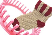 craft - loom knitting