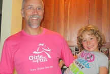 """Real men wear PINK / Girls on the Run - Maine is lucky to have many """"Misters"""" that support our program"""
