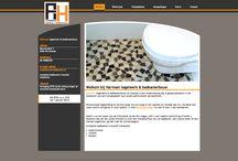 website Harmsen tegelwerk & badkamerbouw