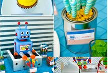 Birthday party - Robot Party