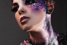 Painted makeup