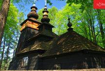 SĄDECKIE - architektura sakralna / Architektura sakralna na Sądecczyźnie - cerkwie, kościoły, kapliczki