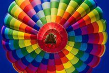 Luchtballon. / Luchtballonnen.