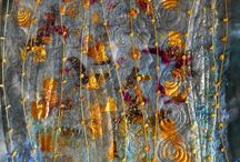 Fibre Art Inspiration / The exquisite art of fabric and fibre manipulation by outstanding artists