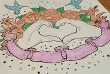 Coloring / Just some of my favorites that I have colored :)