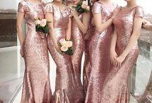 Fashion Bridesmaid Dress