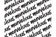Marvelous Background Stamp