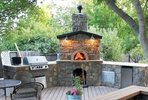 BBQ/Pizza Oven / by Amy Peters