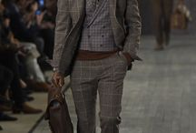 gentleman look with casual touch