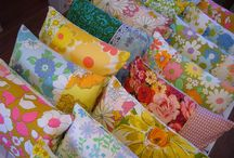 Vintage sheets upcycled