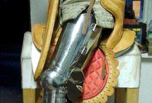 war saddles