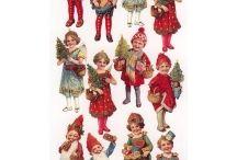 matrica karácsony / stickers christmas