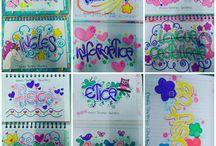 marcación cuadernos