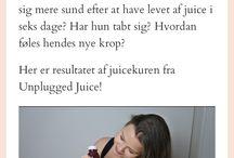 Juicedetox from Unplugged Juice in Copenhagen / Read my review at http://mydailyspace.dk/2017/01/juicekur-detox-unplugged-test/
