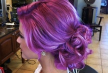 Purple and red hair / by Katie Stewart