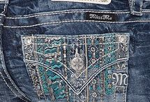 It's in the © * JEANS *  ©