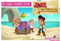 Fiesta de Jake y los Piratas de Nunca Jamás / Ideas y artículos para una fiesta de cumpleaños de Jake y los Piratas de Nunca Jamás.