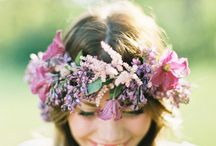 Floral Crowns / Love a good flower on the head!