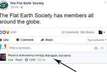 MAKING FUN OF FLAT EARTHERS