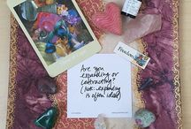 Plates of Inspiration / Plates of Inspiration draws from my collection of crystals, tarot decks, oracle cards, essential oils and other gorgeous things that make me think, feel and smile. Enjoy!