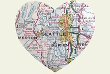 Seattle ♥ / Seattle / by Amy Reed