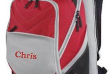 Back To School - Personalized / Personalized back to school items including backpack, sling bag and shoulder bag