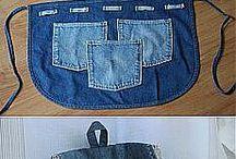 Из джинсов