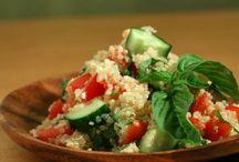 quinoa recipes / by Gretchen Sterley