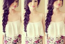 Hair dos / Side braid