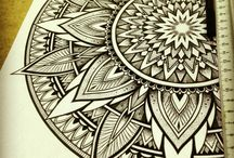 Mandala Inspiration and Doodles / Fabulous shapes and patterns as inspiration for Mandalas