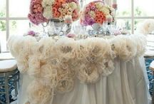 Beautifull special occasions table decorations / by Delicia
